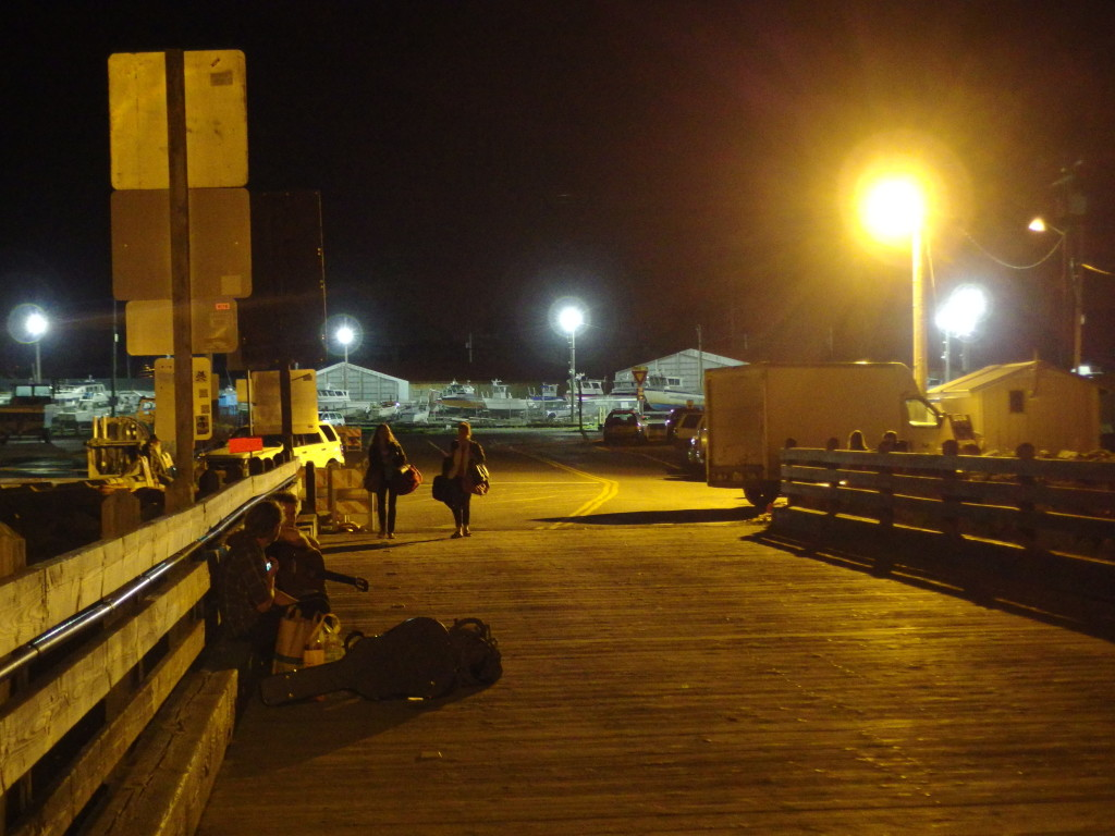 Docks at Night, Gooseberry Point, WA. Photo by Scarlett Messenger