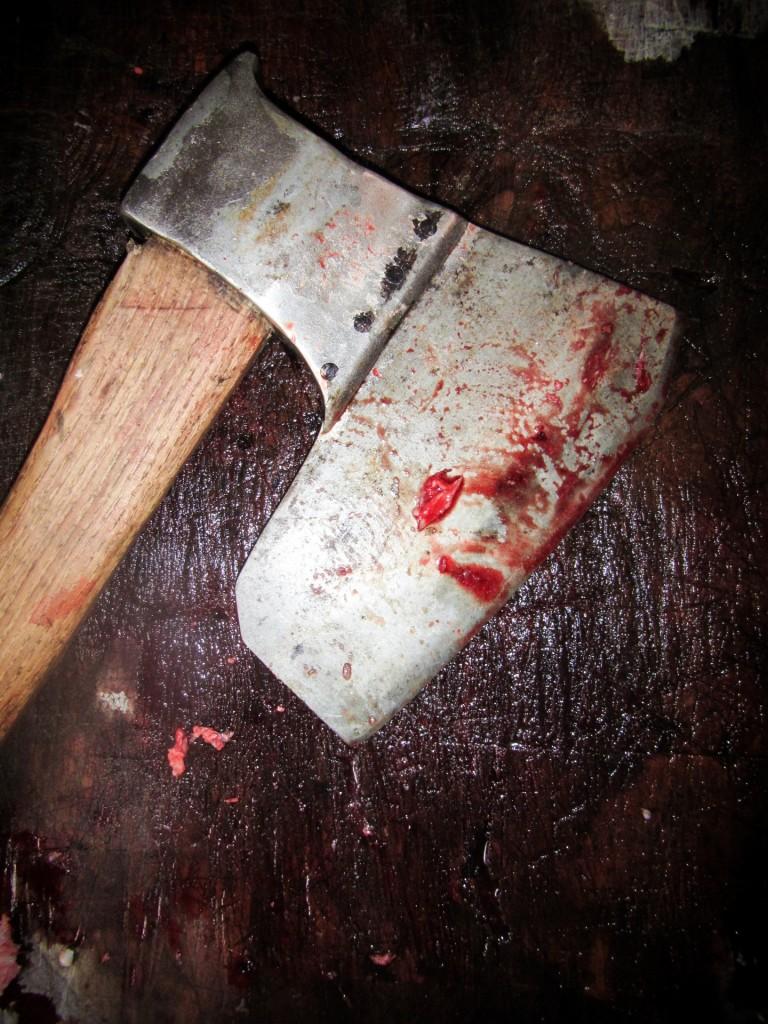 Bloody Axe by Petr Kratochvil