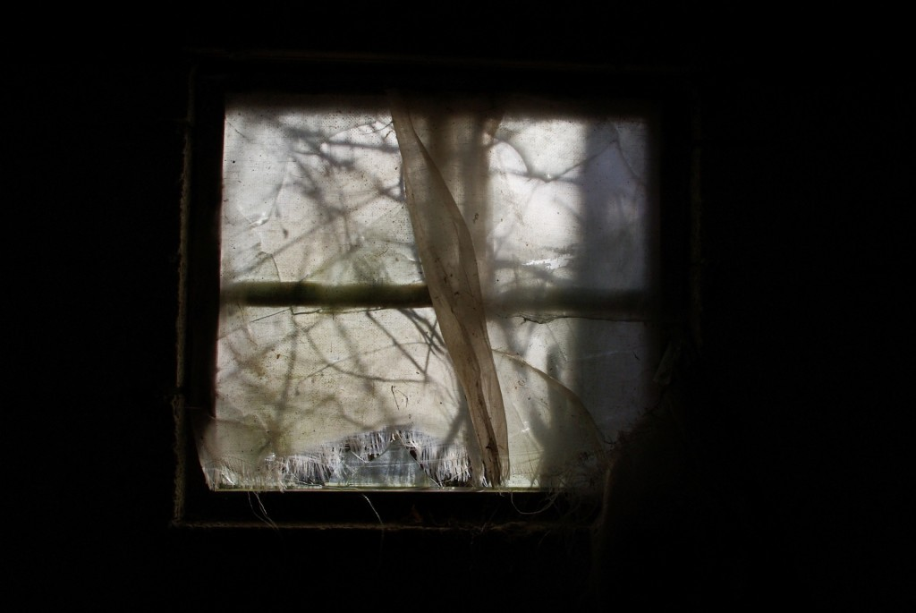 Derelict Window by Lode Van de Velde