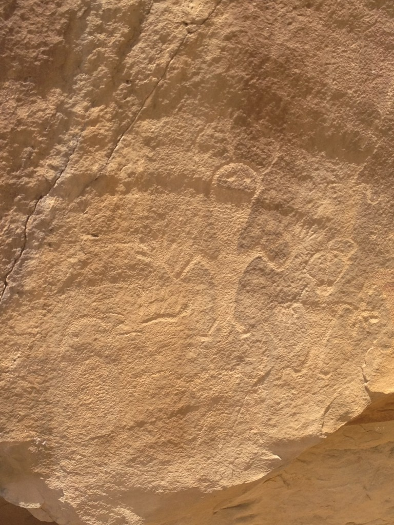 Petroglyph, Vernal, UT. Photo by Scarlett Messenger